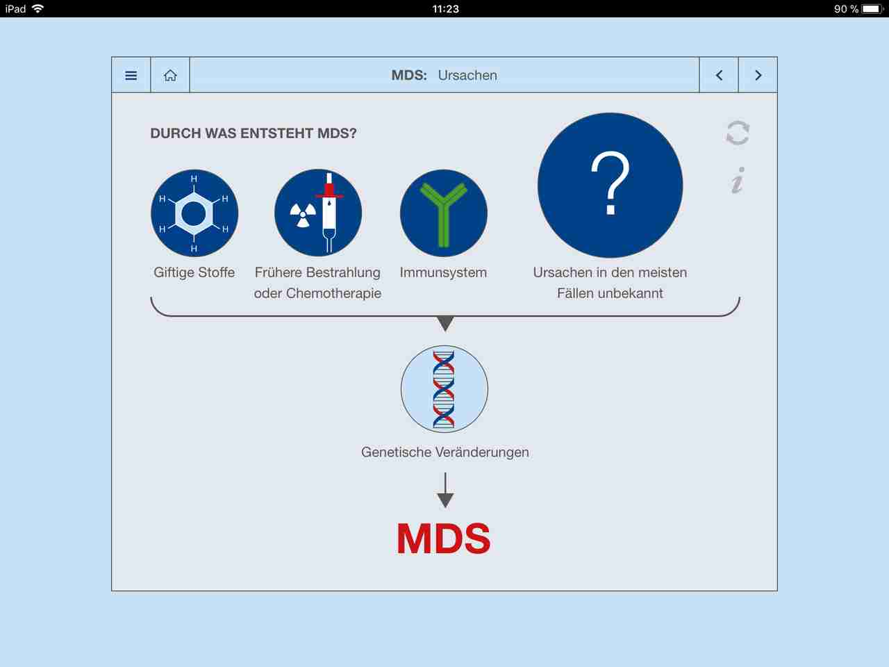WebApp MDS for Patient Consultation